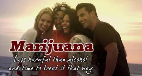 NASCAR Brickyard 400 Marijuana Ad